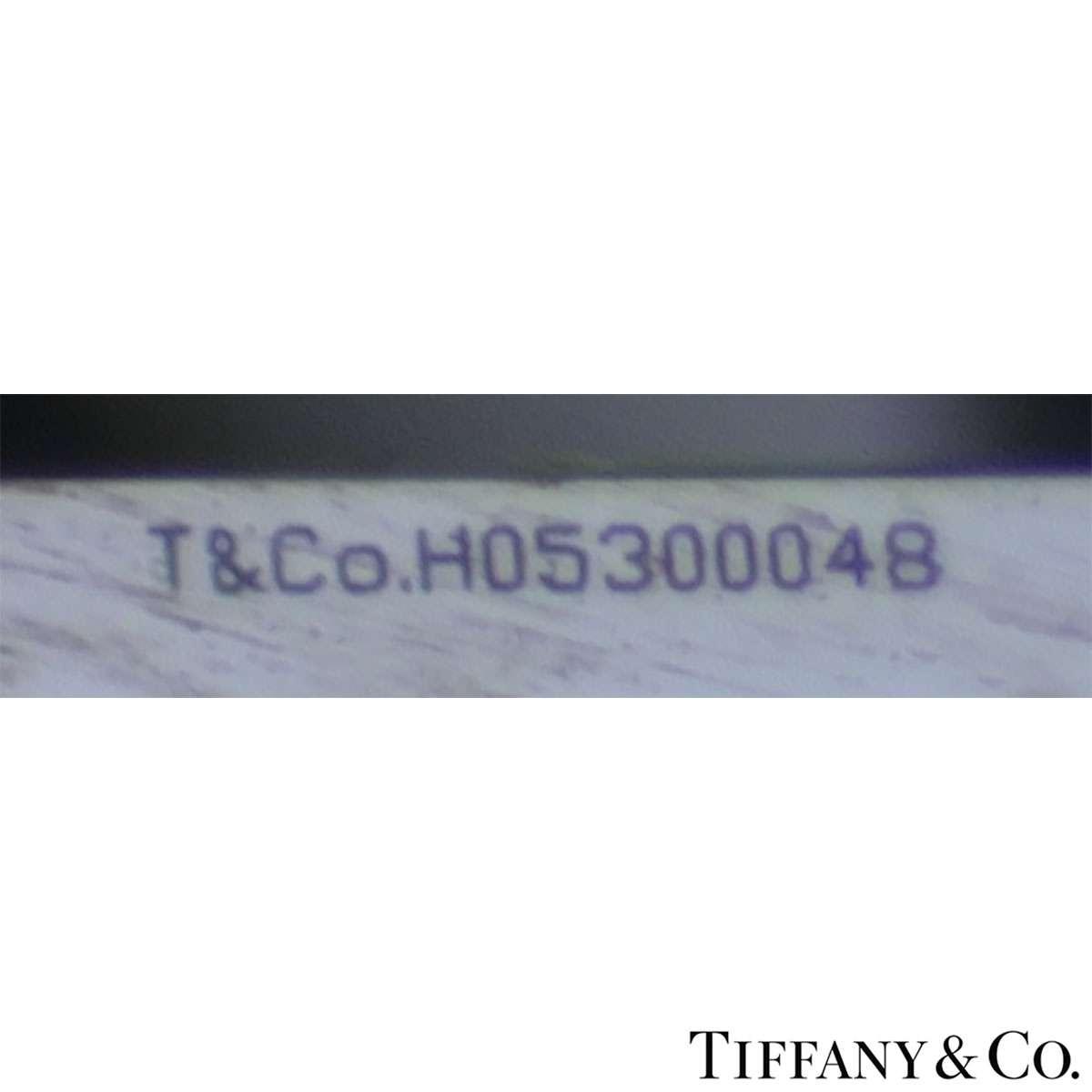 Tiffany & Co. Platinum Diamond Setting Ring 1.27ct G/VS1